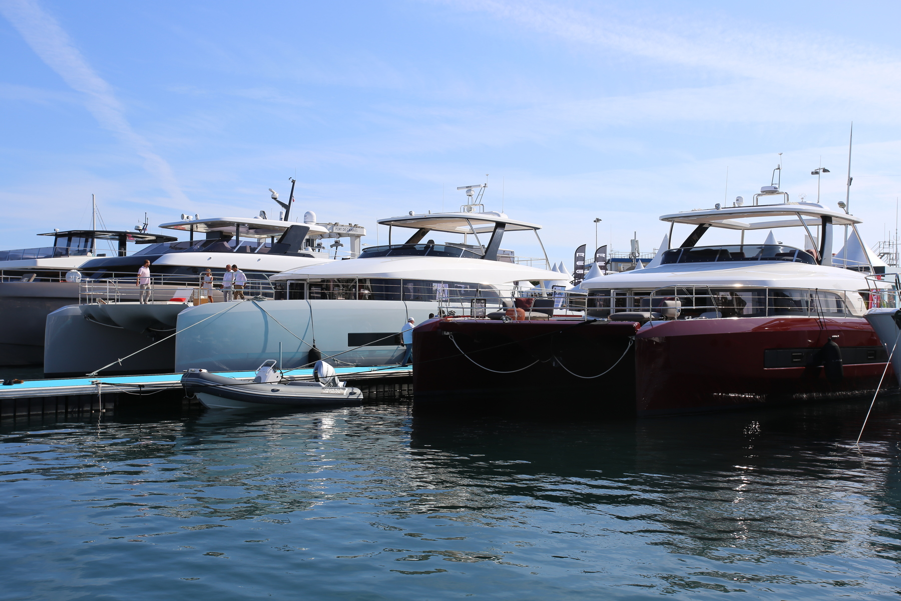 Canceled boat fairs and events during the summer and autumn of 2020